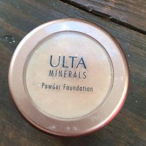Ulta Minerals Powder Foundation in Medium 01